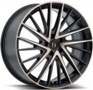 Harp Y-697 8.5x20 5x112 ET 35 Dia 66.6 satin-black-w-machined-face-and-tinted-clear - фото 1