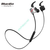 Bluedio - TE black. Спортивные Bluetooth наушники с микрофоном