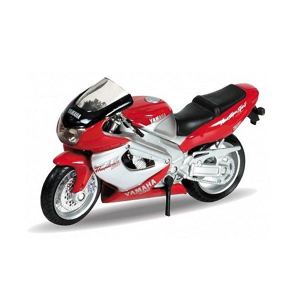 Мотоцикл Welly 12154P Велли Модель мотоцикла 1:18 MOTORCYCLE / YAMAHA 2001 YZF1000R THUNDERACE