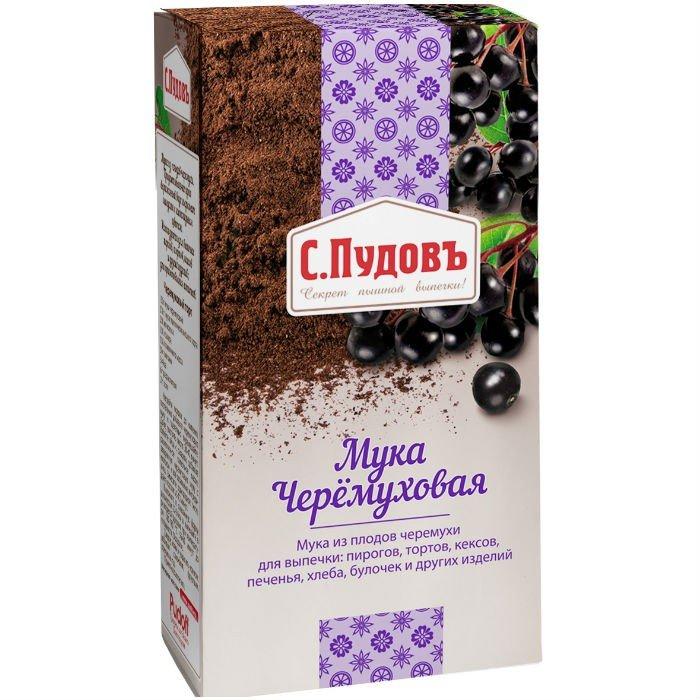 Мука черемуховая «С.Пудовъ», 150 гр