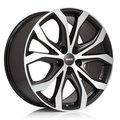ALUTEC ALUTEC W10X Racing Black Front Polished 8.5x19/5x127. D71,6 ET55 - фото 1