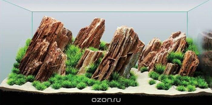 """Декорация для аквариума Meijing Aquarium """"Незабываемый пейзаж"""". YS-201684"""