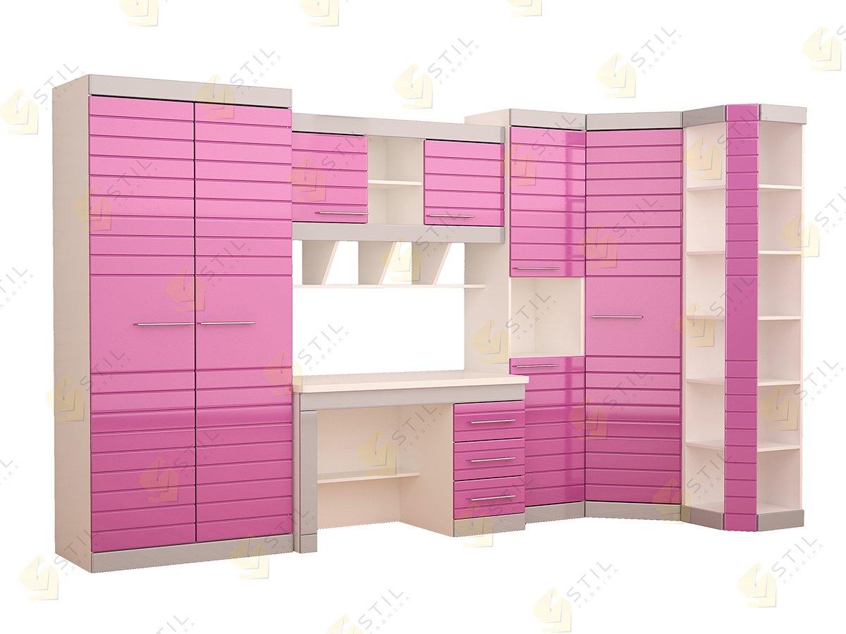 Набор мебели в детскую фабрики Стиль Тин Страйп К-9
