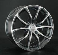 Диски LS Wheels 764 6,5x15 4x108 D65.1 ET25 цвет GMF (темно-серый,полировка) - фото 1