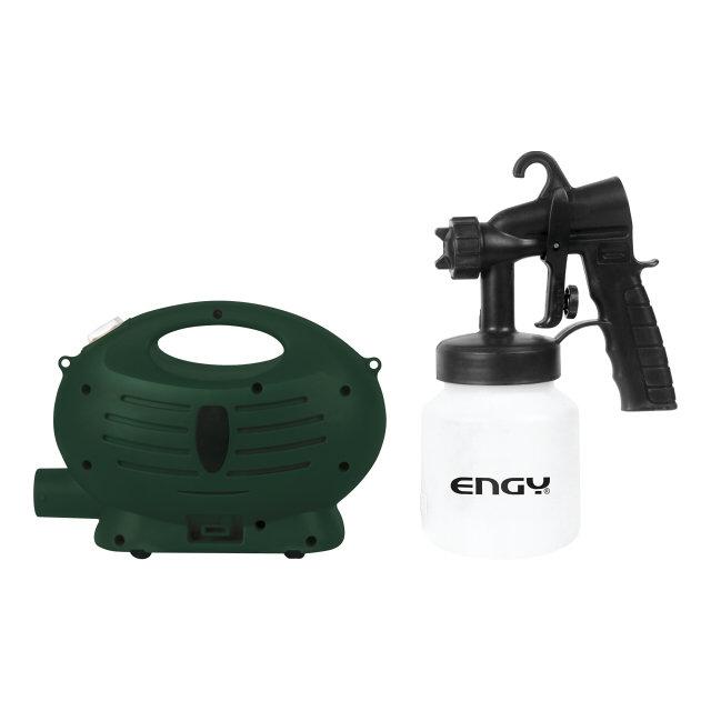 краскопульт engy esg-600 600вт 0,8л 0,12л/мин2л/мин
