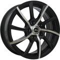 Диски X Race AF-14 6,5x16 5x114,3 D66.1 ET50 цвет BKF (черный) - фото 1