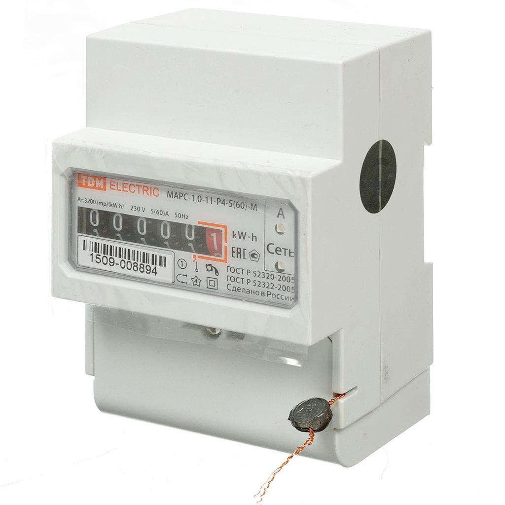 Счетчик электроэнергии TDM Electric Марс SQ1105-0004