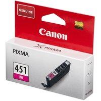 Картридж CANON CLI-451M пурпурный (magenta) (6525B001)