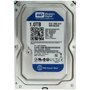 Жесткий диск Western Digital 1.0Tb WD Caviar Blue WD10EZEX SATA-III 7200rpm 64Mb