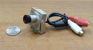 Цветная миниатюрная камера видеонаблюдения JK-907CD