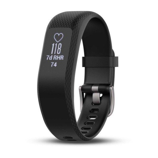 Фитнес-браслет Garmin Vivosmart 3 размер S черный/black