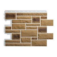 Цокольный сайдинг (фасадные панели) Камень Пражский - цвет 02 (59см)