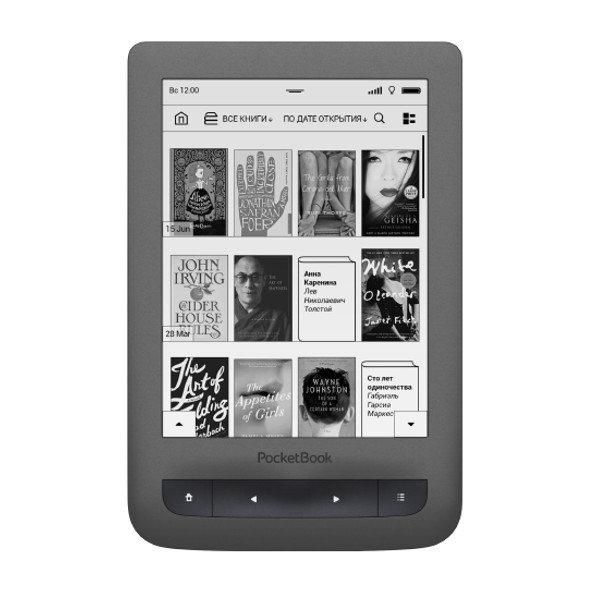 Электронная книга PocketBook 626 Plus Grey PB626(2)-Y-RU