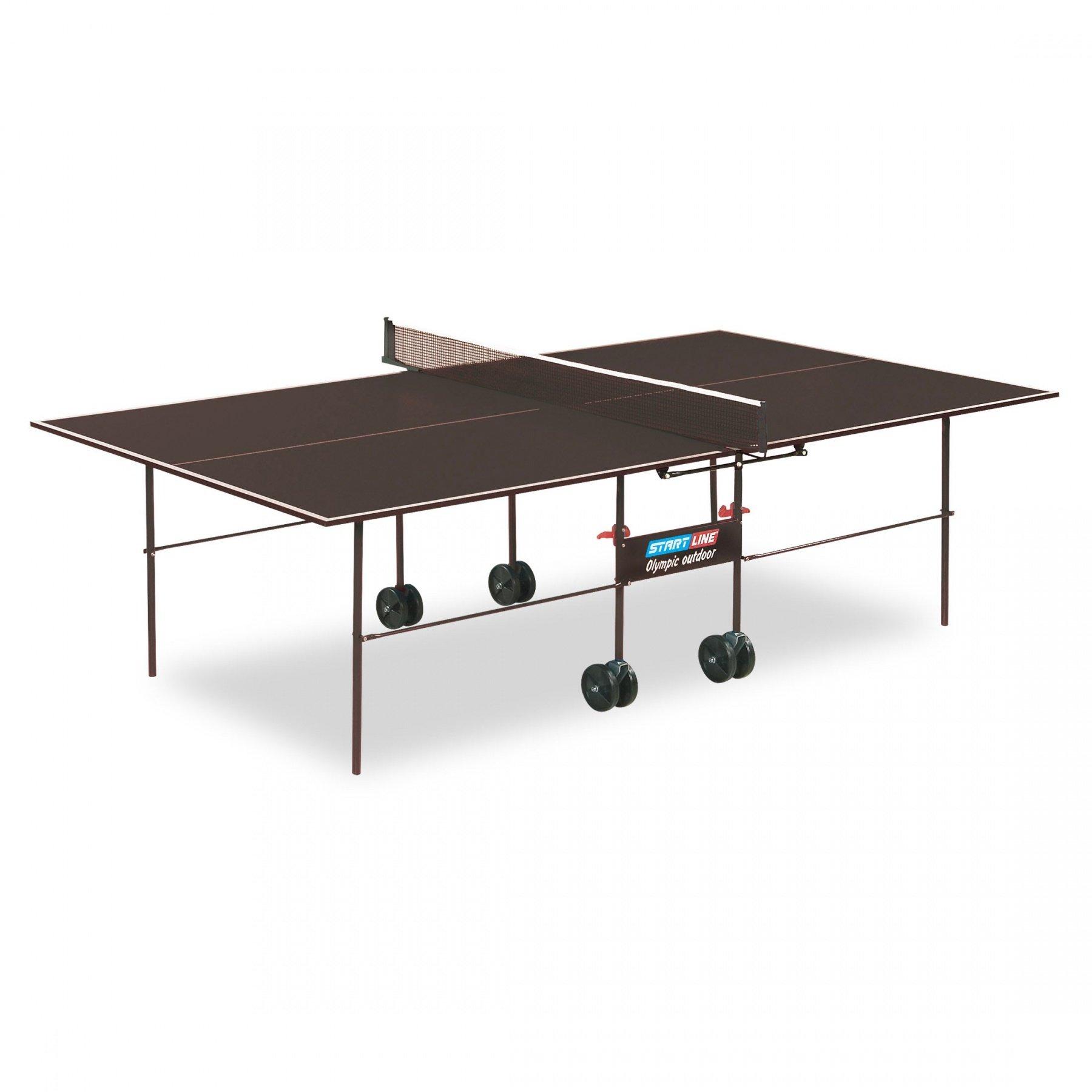 """Стол для настольного тенниса """"OLYMPIC OUTDOOR"""" с сеткой"""