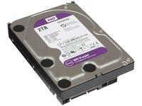 Жесткий диск WD 2ТБ Western Digital Purple WD20PURZ, 5400об./мин., 64МБ (SATA III)