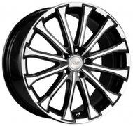 Диски Racing Wheels H-461 8,5x20 5x108 D63.4 ET50 цвет BKFP - фото 1