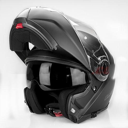 LS2 FF325 Strobe Snow мотошлем черный матовый (размер: 2xl, цвет: черные (матовые))