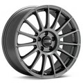 OZ Racing Superturismo LM 7,5x17 5/112 ET50 d75 (Matt Race Silver Black Lettering) - фото 1