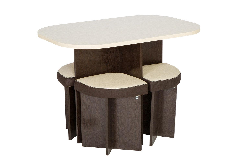 Комплект стол + 4 табурета Hoff Олимп