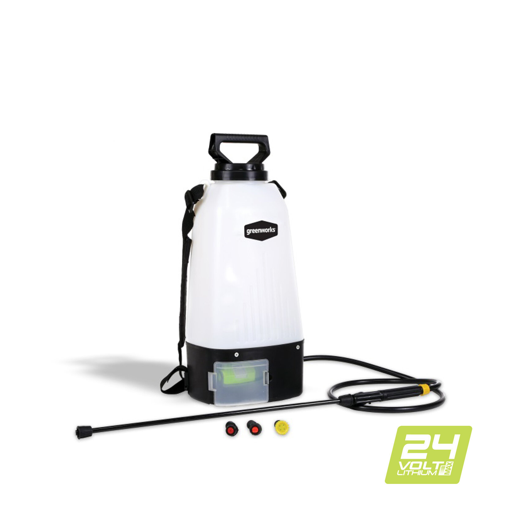 Опрыскиватель садовый аккумуляторный Greenworks GSP1250K2 4 Ач АКБ и ЗУ, арт. 5103507UB
