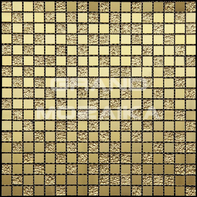 Стеклянная мозаика серия Mirror 11029. Цвет - зеркало, материал - Стекло, размер чипа: 15x15, размер листа: 298x298, цена за лист