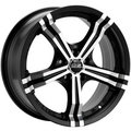 Диск OZ Power 8x17/5x114,3 ЕТ45 D75 Matt Black + Diamond Cut - фото 1