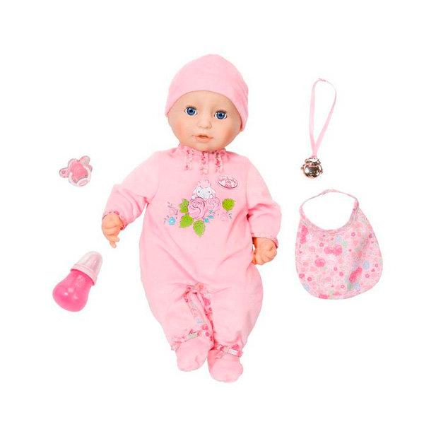 Кукла Zapf Creation Baby Annabell 794-821 Бэби Аннабель Кукла многофункциональная, 43 см