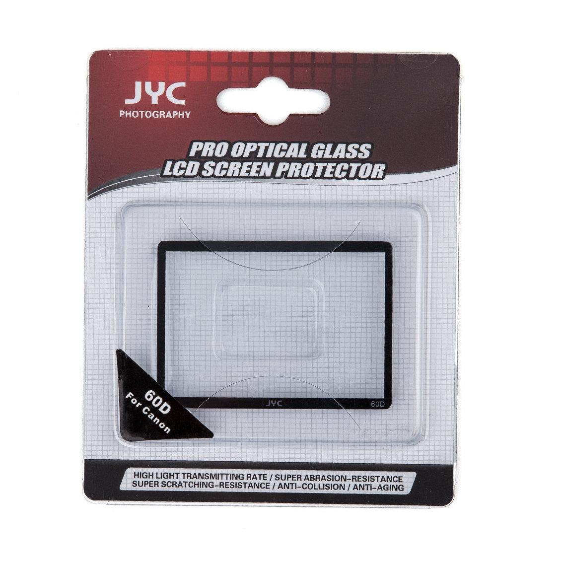 Защитное стекло для фотоаппарата Защитное стекло JYC для Canon 60D