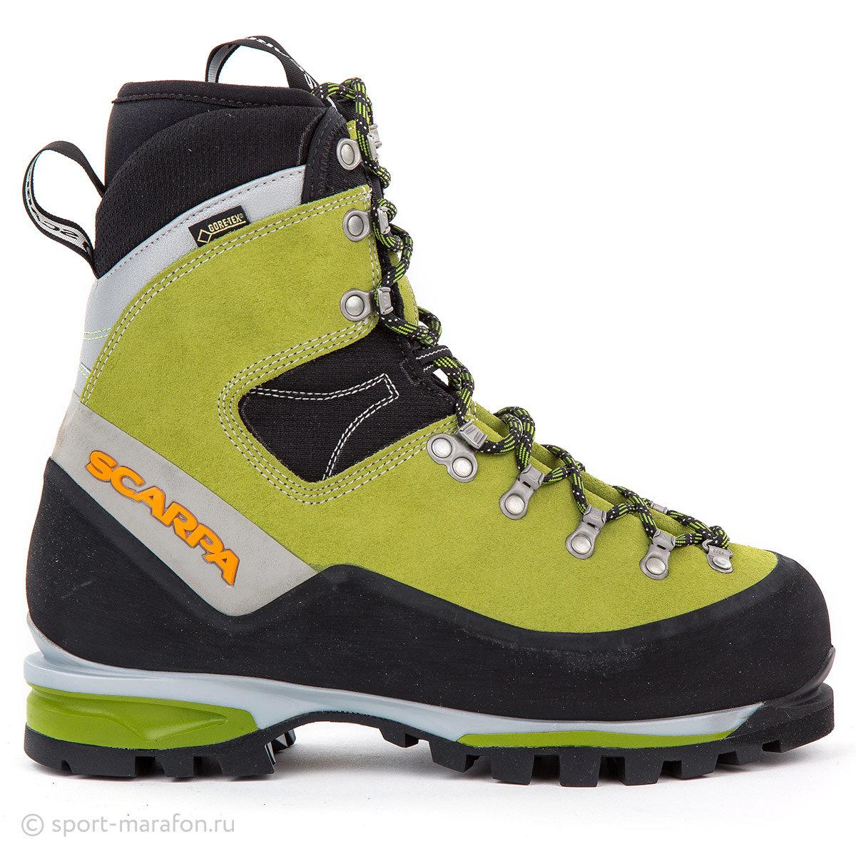 Ботинки женские Scarpa Mont Blanc gtx Suede Kiwi
