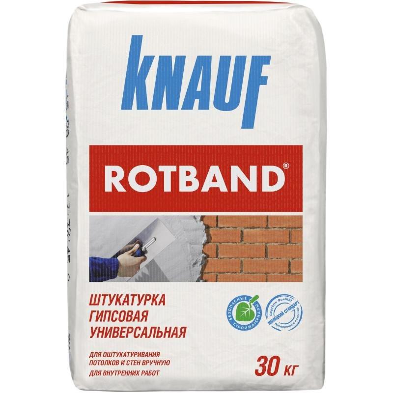 Гипсовая штукатурка Knauf Rotband 30 кг