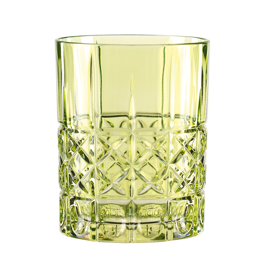 бокалы для виски Nachtmann Стакан для виски Highland, 345 мл, бессвинцовый хрусталь, зеленый