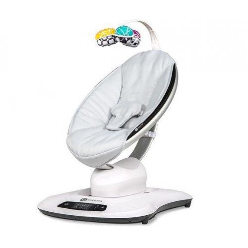 MamaRoo 4.0 серебристая кресло-качалка 4moms