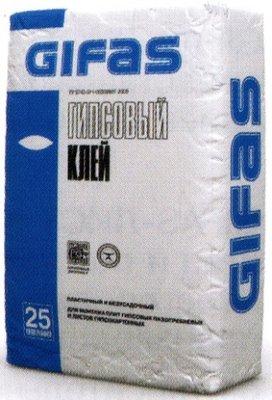 Клей гипсовый Gifas 25 кг