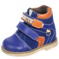 88203d3b2 Ботинки детские ортопедические TWIKI TW-401-2 сине-оранжевый, размер 17