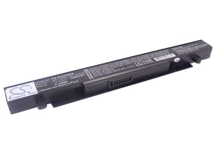 MirBatt Аккумулятор для ноутбука Asus A41-X550, A41-X550A 14,8V 2200mAh код BL22AS82