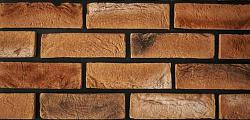 Декоративный искусственный камень РокСтоун Кирпич античный 3012п, Медный