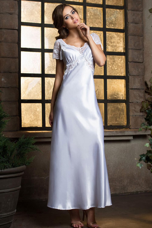 Mia-Mia Сорочка женская длинная белая (белый / XL(50))