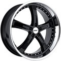 Литой диск TSW JARAMA 8x17 5x120 ET35.0 D76 Gloss Black Mirror Cut Li - фото 1