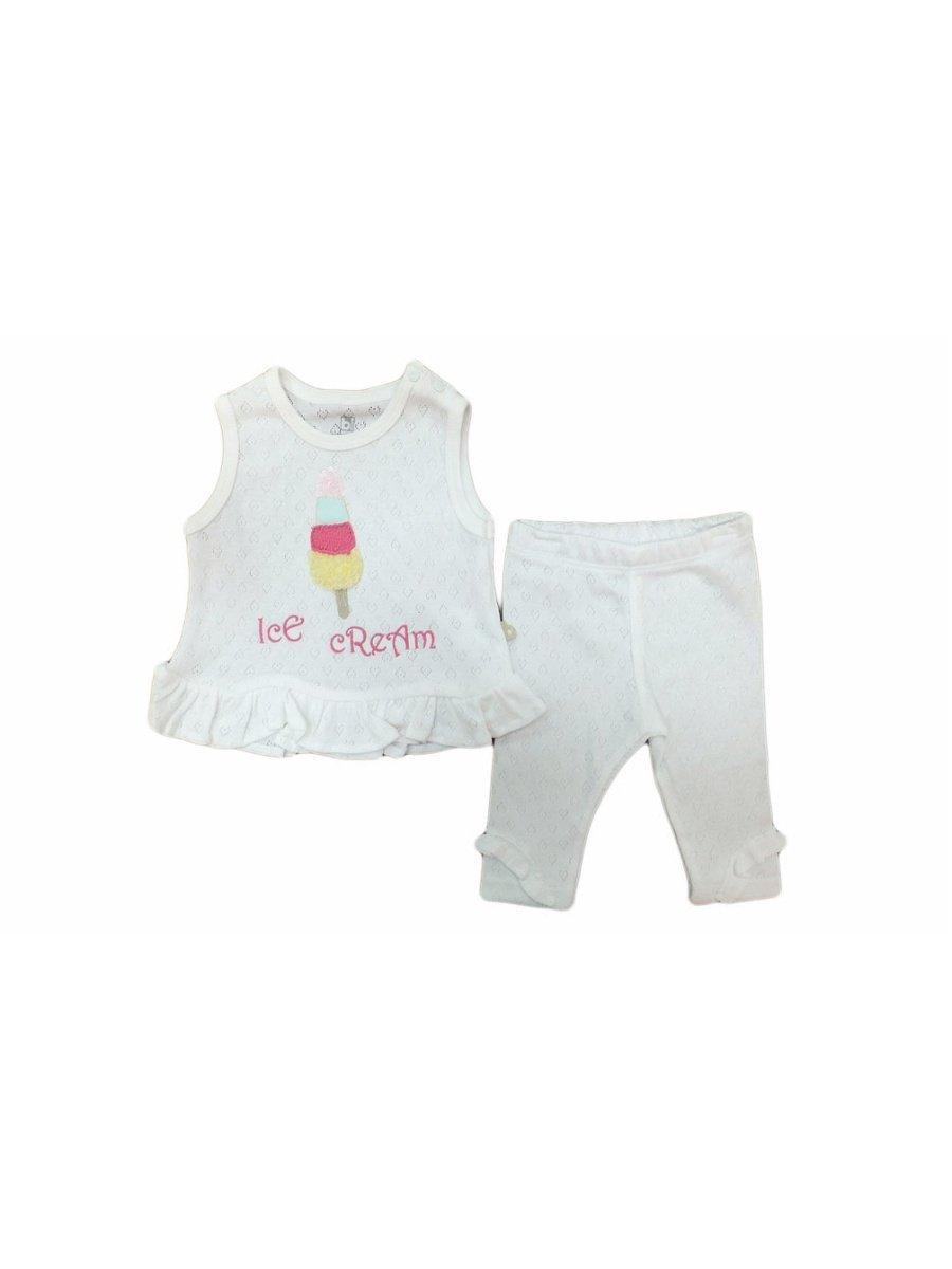 Комплект нательный для малыша Bi Baby 59367/кремовый