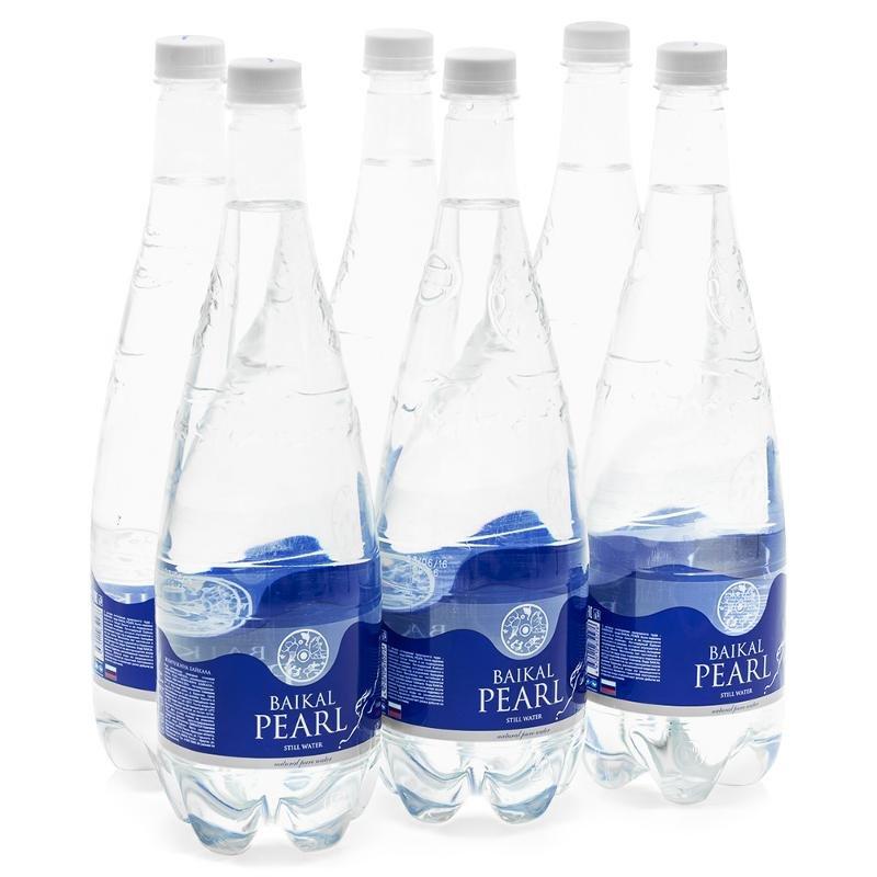 """вода """"Жемчужина Байкала"""", 1,25 л., негазированная (упаковка 6 шт)"""