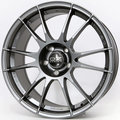 Колесный диск OZ Racing ULTRALEGGERA Matt Graphite Silver 8xR18 ET35 5*114.3 D75 - фото 1