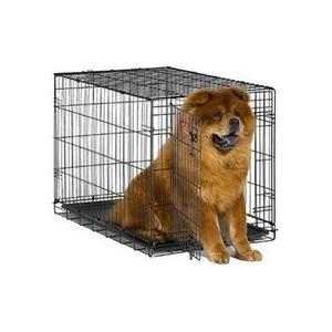 MIDWEST iCRATE КЛЕТКА 91Х58Х63 СМ ЧЕРНАЯ для собак малых и средних размеров - 1 ДВЕРЬ