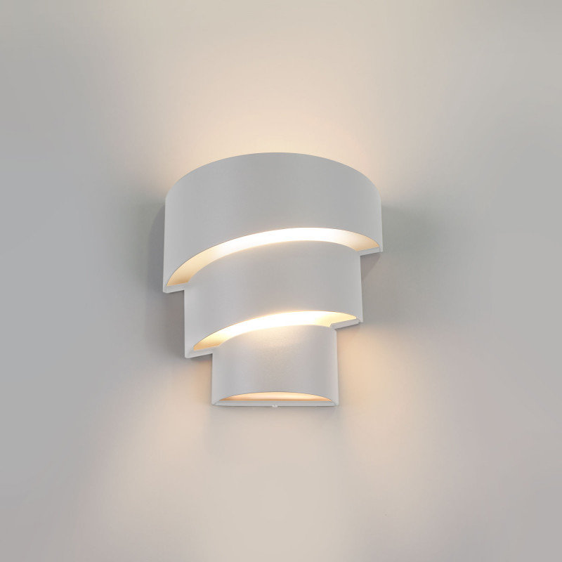 Светильник настенный Elektrostandard 1535 TECHNO LED HELIX белый