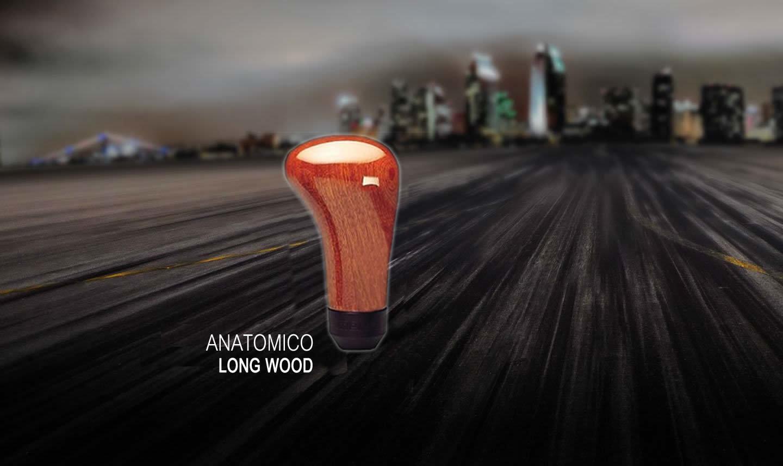 Ручка кпп momo (момо) Anatomico Long Wood