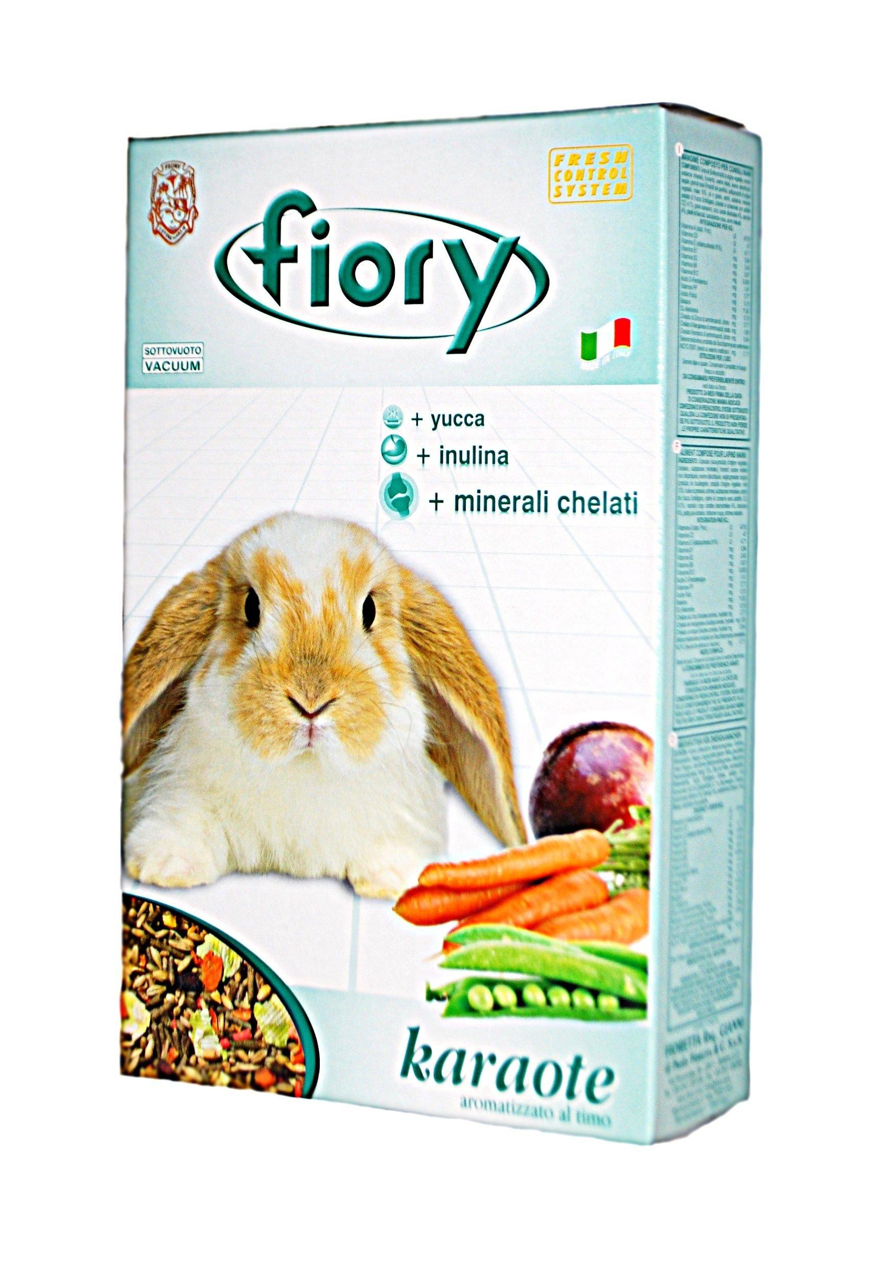 Корм Fiory Karaote для кроликов , 850 г