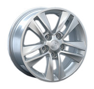 Колесные диски Replica Opel OPL23 7х17 5/105 ET42 56,6 silver - фото 1