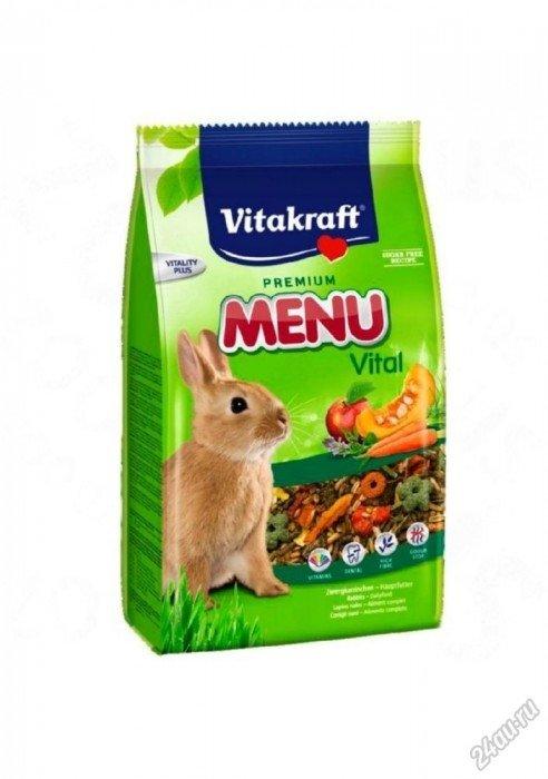 Vitakraft Menu Vital - Витакрафт Корм для кроликов основной 1 кг ( Корм для кроликов )
