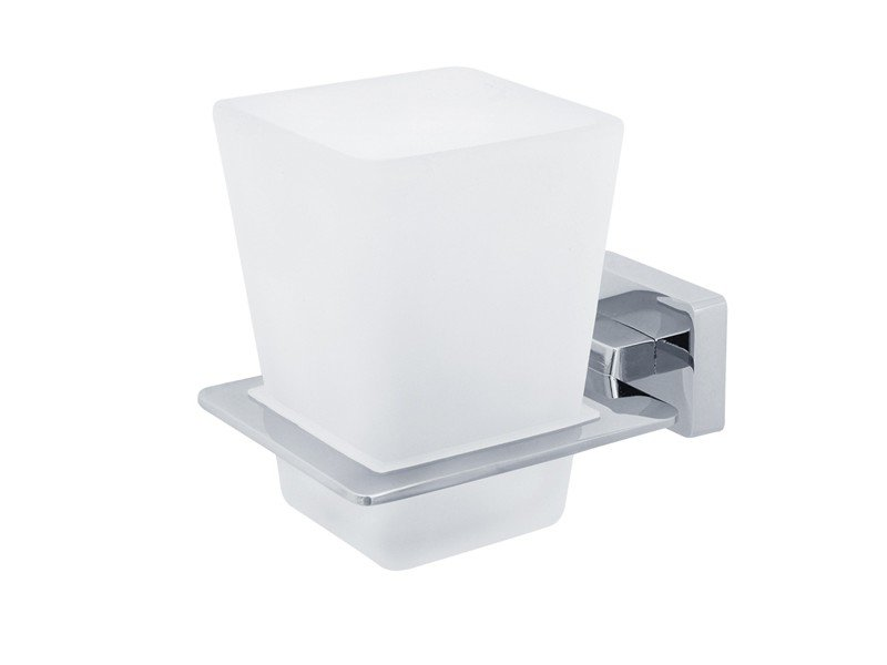 Стакан для ванны VERAGIO RAMBA VR.RMB-4940.CR Стакан настенный, хром/стекло