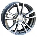 Диски Racing Wheels H-346 6,5x15 5x105 D56.6 ET39 цвет GM/FP - фото 1