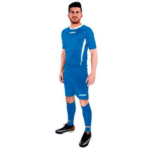 Форма футбольная Legea Dusseldorf, голубой, L, Для разного уровня, полиэстер